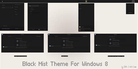uxtheme themes for windows 8 1 black mist theme for windows 8 1 windows10 themes i