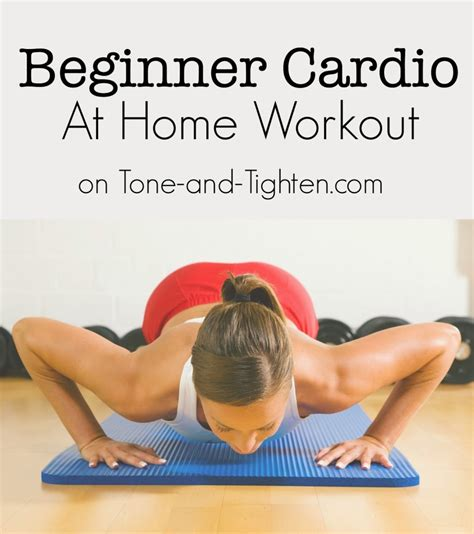 total low impact beginner cardio workout to do at
