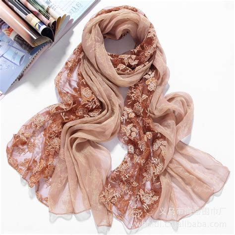 2015 summer style wholesale fashion design lace scarf
