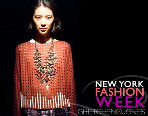 New York Fashion Week Goes Green Hippyshopper by Edun Fall Winter 2012 Ecouterre