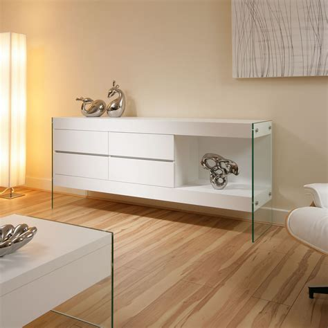 beautiful modern white sideboard sideboards buffet cabinet