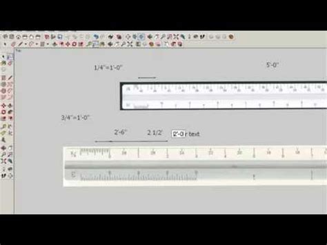 sketchup layout ruler how to read the architect s scale drafting modeling and