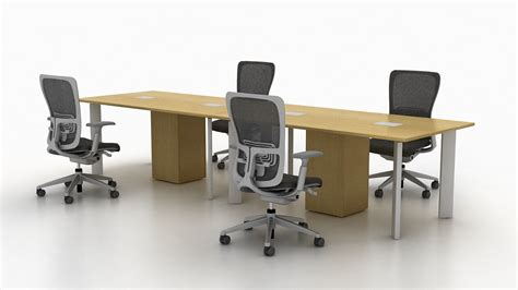Haworth Planes Conference Table Tables
