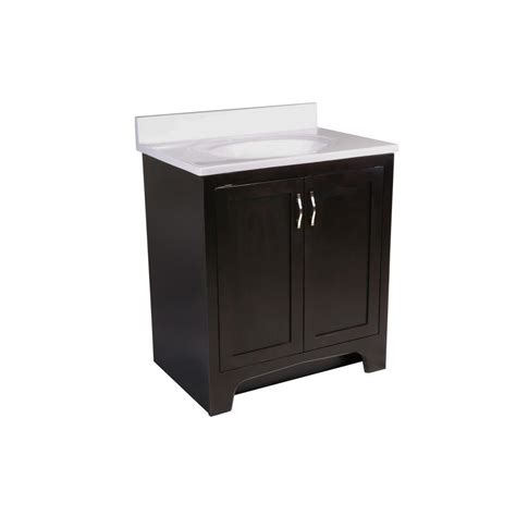 design house vanity top design house 30 in x 21 in x 33 1 2 in ventura 2 door