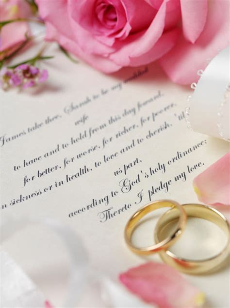 civil wedding vows