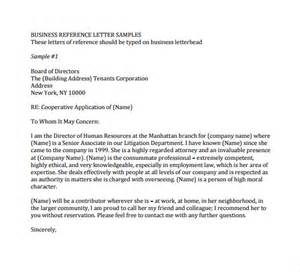 Business Letter Format With Reference Business Reference Letter 11 Download Free Documents In