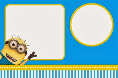 minion invitations template despicable me invitations and free printables oh