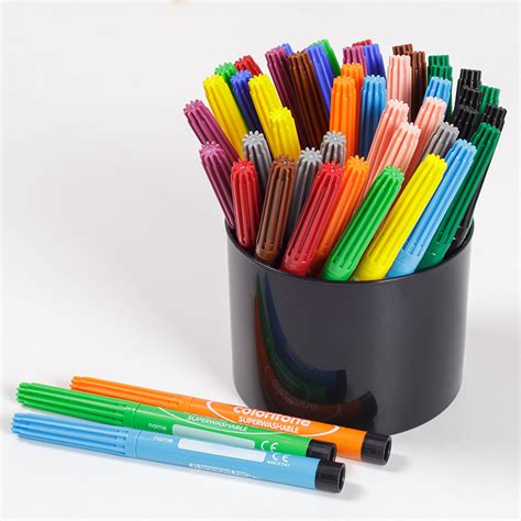 coloured pens early years direct
