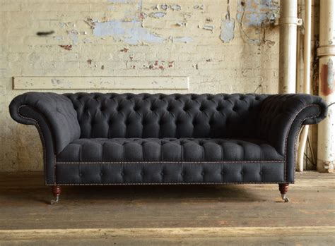 grey chesterfield sofa grey chesterfield sofa branagh 3 seater grey