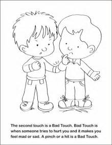 bad coloring fsgc touch bad touch coloring and activity book on