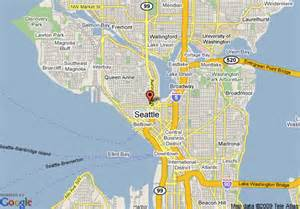 Map Store Seattle by Map Of Downtown Seattle Wa Pictures To Pin On Pinterest