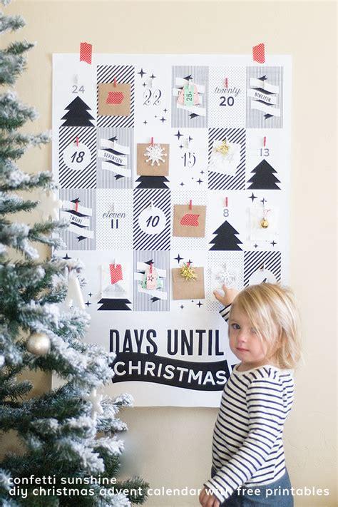 christmas diy decorations printouts day 37 favorite diy advent calendar ideas