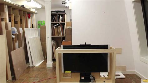 Tips On Building A Tv Lift Cabinet And How To Make Bead How To Build A Tv Lift Cabinet