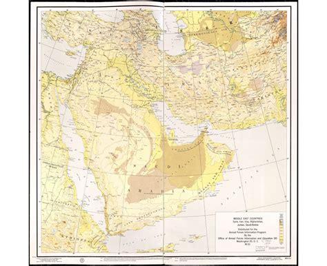 middle east elevation map maps of saudi arabia detailed map of saudi arabia in