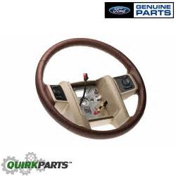 Steering Wheel For Pc Cdr King 08 10 Ford F250 F350 Duty King Ranch Leather