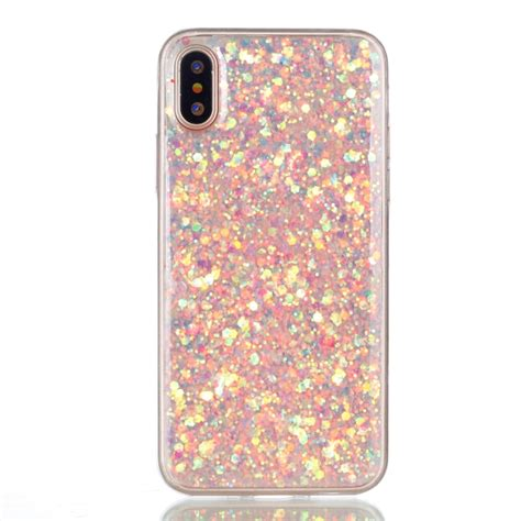 Glitter Soft Iphone for iphone 8 colorful glitter powder style protective soft