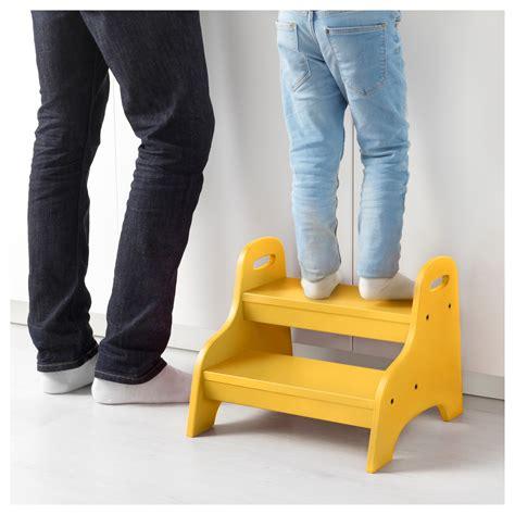 ikea step stool kid trogen children s step stool yellow 40x38x33 cm ikea