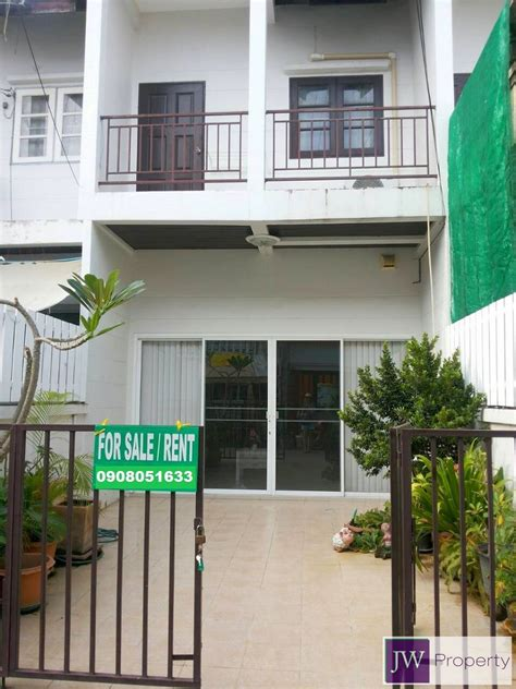 lovely  bedroom townhouse  rent jwpropertycom hua hin property  sale real estate