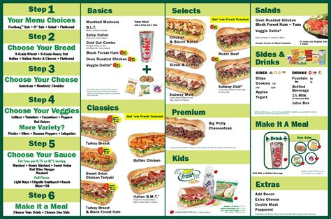 www subway image gallery subway menu