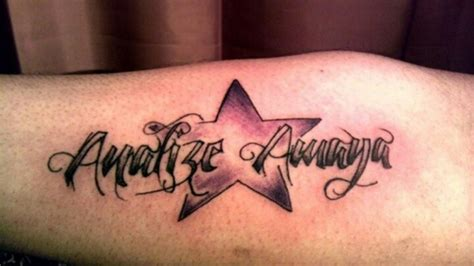 tattoo name with stars 28 best images about tattoo on pinterest graffiti styles