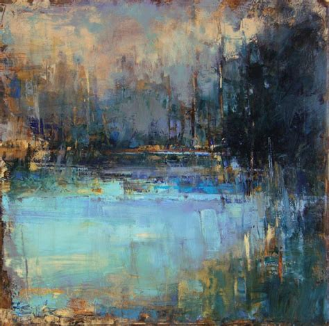 Landscape Paintings Curt Butler Quot Shallows Quot Encaustic