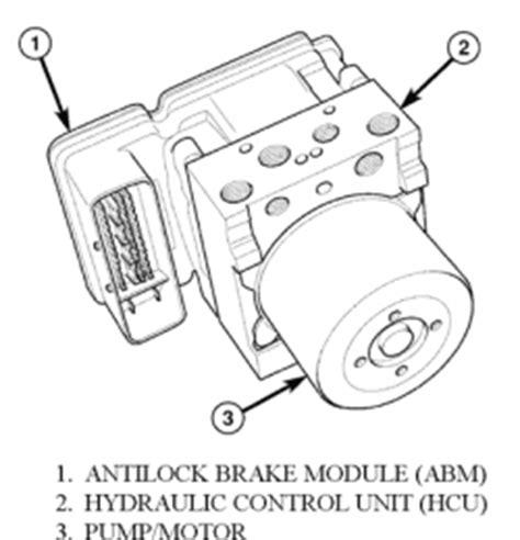 repair anti lock braking 2006 ford five hundred engine control repair guides anti lock brake system hydraulic control module autozone com
