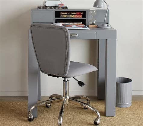 Mini Desk by Parsons Mini Desk Hutch Pottery Barn