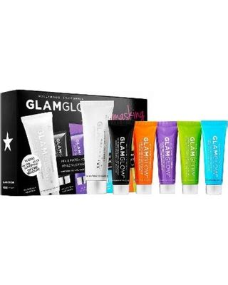 Glam Glow Mask Sachet Sle Size 1 get the deal glamglow multimasking mask treatment set limited edition set brown mud