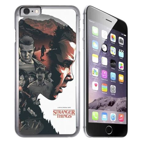 coque iphone  stranger  fan art achat coque