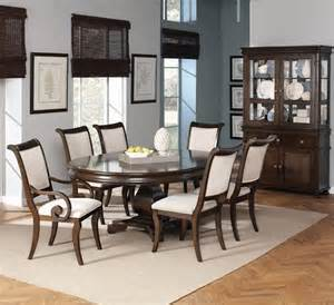 harris formal dining room set with round oval table dallas designer furniture cayden