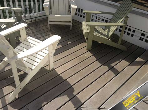 how to clean a composite how to clean and seal composite decking defy wood stain