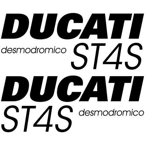 Ducati Aufkleber by Stickers Ducati St4s Desmo Pas Cher