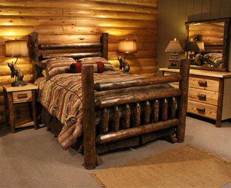 log furniture bedroom sets log bedroom sets for natural