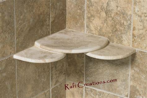 Ceramic Corner Shelf For Shower by Shower Corner Shelves Ceramic Tile Shower Shelves Corner