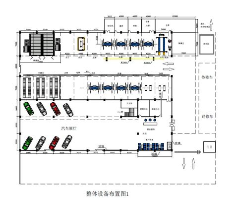 Layout Of Workshop Of Automobile | wholesale 3 auto workshop design sles and equipment
