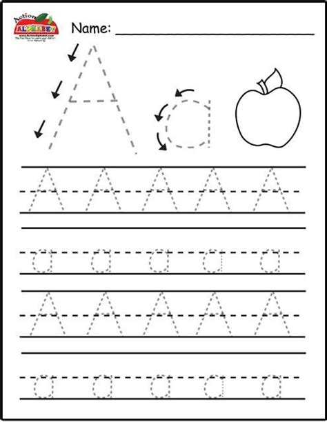 free printable preschool worksheets letter a best 25 letter tracing ideas on pinterest writing