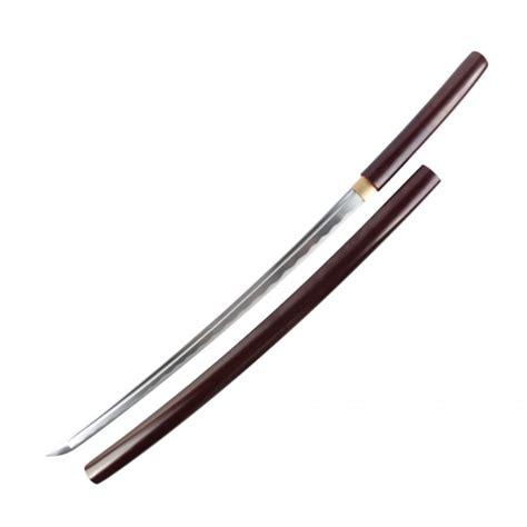 Handmade Japanese Shirasaya Samurai Katana Sword Sharp - onikiri 40 quot tang handmade japanese shirasaya samurai