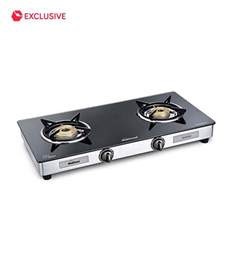 Cooktop Comparison Sunflame Diamond 2b Ss Gt 2 Burner Gas Stove Toughened