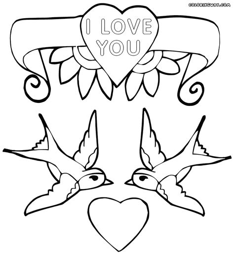 coloring pictures about love love coloring pages coloring pages to download and print
