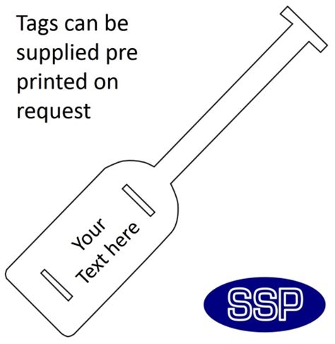 printable asset labels asset tags self tie ssp print factory
