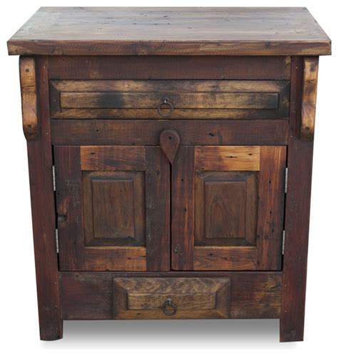reclaimed wood bathroom cabinets shop houzz foxden decor reclaimed wood vanity single