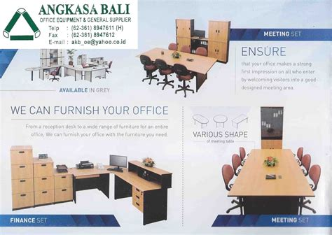 Jual Meja Plastik Di Surabaya angkasa bali furniture distributor kursi meja kantor bali