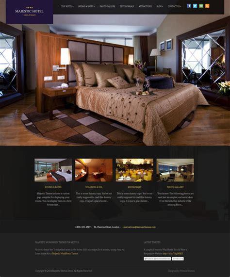 theme hotel full screen 40 best hotel wordpress themes 2017