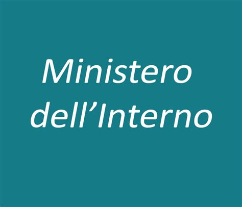www ministero di interno it lavori ministero dell interno demo 2000 s r l
