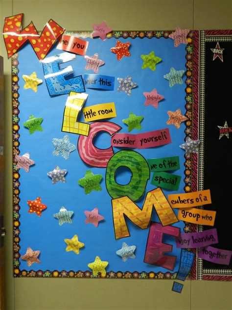 Primary Class Decoration Ideas by Education Welcome Back Bulletin Board Of