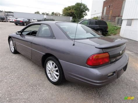 1998 Chrysler Sebring Lxi by Pewter Blue Pearl 1998 Chrysler Sebring Lxi Coupe Exterior