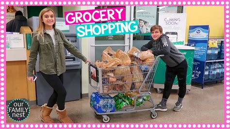 Do You Grocery Shop With Or Without A List by Do All The Grocery Shopping