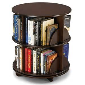 bi level rotating bookcase