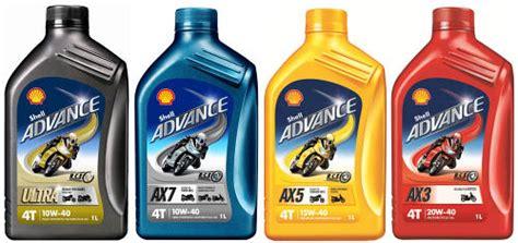Dijual Oli Mesin Idemitsu Semi Synthetic 10w 40 0 8l Mr 26g Barang B shell introduces new advance 4t range of motorcycle oils