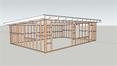 Wood Floor Framing Plan by Chinatsu Arch1392 March 2013